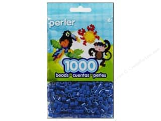 beading & jewelry making supplies: Perler Beads 1000 pc. Dark Blue