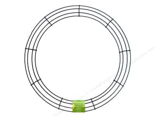craft & hobbies: FloraCraft Wire Wreath Form 18 in. Green