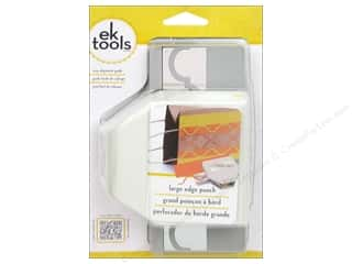 Clearance Uchida Tri-Corner 3 in 1 Punch: EK Paper Shapers Large Edger Punch Round Arch Pattern 3 in.
