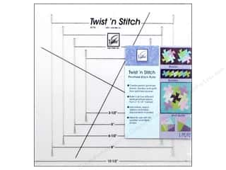 June Tailor: June Tailor Quilting Twist N Stitch Pinwheel Block Ruler