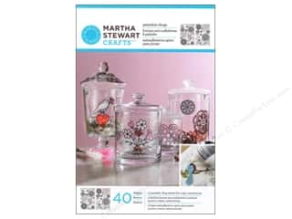 Mothers Day Gift Ideas Martha Stewart: Martha Stewart Glass Paintable by Plaid Cling Hearts And Flowers