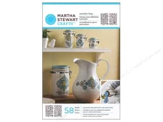 craft & hobbies: Martha Stewart Glass Paintable by Plaid Cling Ornate Flowers
