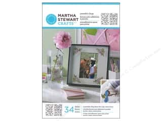 Martha Stewart Glass Paintable by Plaid Cling Rose Bouquet