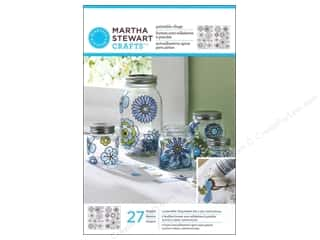 Weekly Specials Plaid Mod Podge: Martha Stewart Glass Paintable by Plaid Cling Modern Blossoms