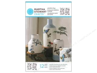 Martha Stewart Glass Paintable by Plaid Cling Woodland Birds