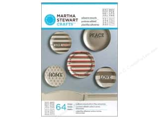 Martha Stewart Stencils by Plaid Adhesive Glass Typewriter Alphabet