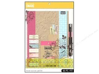 theme stickers  holidays: K & Company SMASH Folio Gift Pack Pink