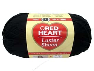 Red Heart Holiday Yarn 235 yd. #2 Black