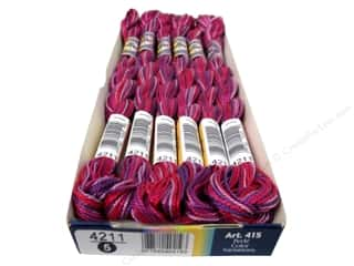 mettler mercerized cotton thread: DMC Pearl Cotton Variations Size 5 #4211 Azalea (6 skeins)