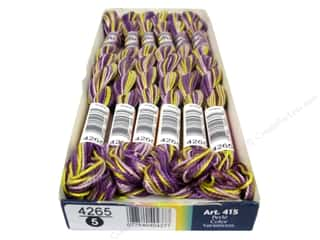 mettler mercerized cotton thread: DMC Pearl Cotton Variations Size 5 #4265 Purple Pansy (6 skeins)
