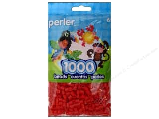 beading & jewelry making supplies: Perler Beads 1000 pc. Red