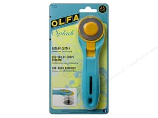 rotary cutter: Olfa Rotary Cutter 45 mm Splash Blue