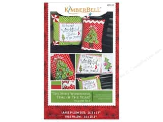 home decor pattern: Kimberbell Designs Most Wonderful Time Of The Year Pillow Set Pattern