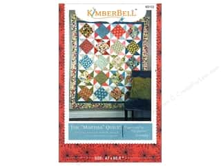 Quilt Pattern: Kimberbell Designs The Martha Quilt Pattern