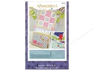 Kimberbell Designs The Karlee Quilt & Pillow Set Pattern