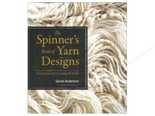 yarn  books: Storey Publications The Spinner's Book Of Yarn Designs Book by Sarah Anderson