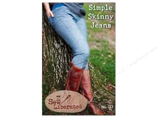 Wearables: Sew Liberated Simple Skinny Jeans Pattern