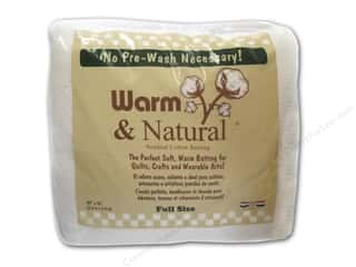 The Warm Company Warm and Natural Cotton Batting Full 90 x 96 in.