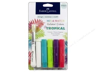 ink dauber: FaberCastell Gelatos Designer Colors 4 pc. Tropical