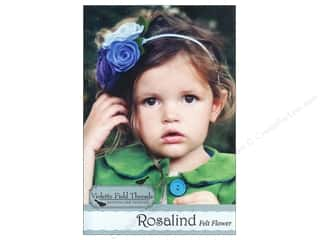 Wool Felt & Felting Patterns: Violette Field Threads Rosalind Felt Flower Kit