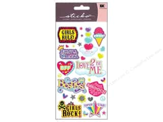 scrapbooking & paper crafts: EK Sticko Stickers Musical Gals