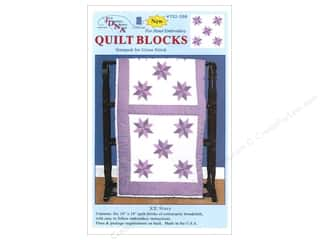 Jack Dempsey 18 in. Quilt Blocks 6 pc. Cross Stitch Stars