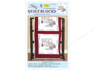 Jack Dempsey 18 in. Quilt Blocks 6 pc. Vintage Vehicle