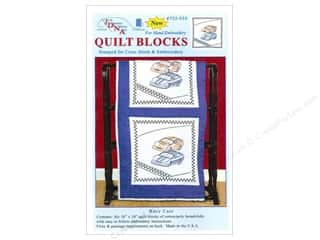 Jack Dempsey 18 in. Quilt Blocks 6 pc. Race Cars