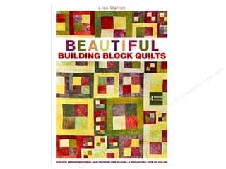 C&T Publishing Beautiful Building Blocks Quilts Book by Lisa Walton