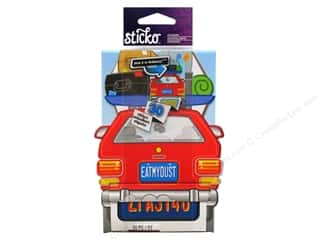 scrapbooking & paper crafts: EK Sticko Stickers License Plate Roll
