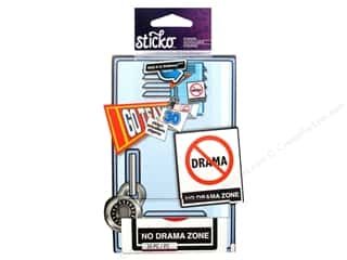 scrapbooking & paper crafts: EK Sticko Sticker Roll Zero Drama