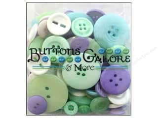 novelties: Buttons Galore Button Totes 3.5 oz. Frost