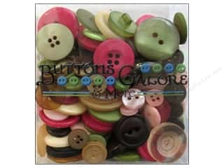 novelties: Buttons Galore Button Totes 3.5 oz. Rose Garden