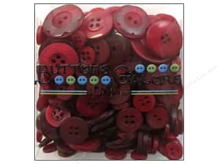 novelties: Buttons Galore Button Totes 3.5 oz. Classic Red