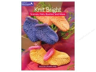 Knit Bright: Scarves, Hats, Booties, and More by Kristin Spurkland
