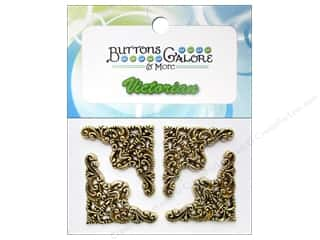 sewing & quilting: Buttons Galore Theme Buttons Gold Filigree