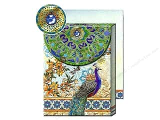 Clearance Punch Studio Decorative Magnet: Punch Studio Pocket Note Pad Royal Peacock (2 pads)