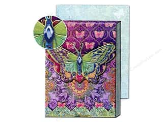 Punch Studio Pocket Note Pad Patchwork Rainbow Butterfly