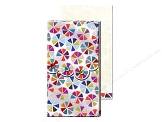 Punch Studio Pocket Note Pad Large Fuchsia Foil Circle