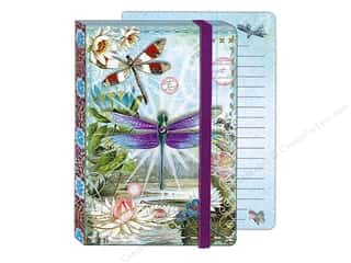 Gifts & Giftwrap: Punch Studio Journal Dragonflies