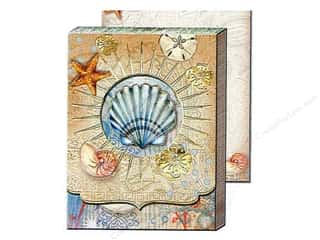 novelties: Punch Studio Pocket Note Pad Window Tiny Seashell