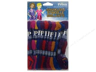 yarn & needlework: Prism Floss Pack Six Strand Sparklers 24pc