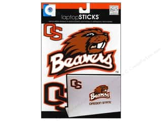 NCAA: Me&My Big Ideas Sticker Laptop STICKS NCAA Oregon State Beavers
