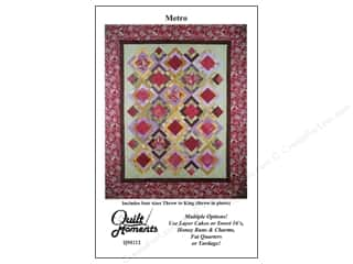 Quilting: Quilt Moments Metro Pattern