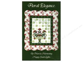 books & patterns: Happy Stash Quilts Floral Elegance Pattern by Marcia Harmening