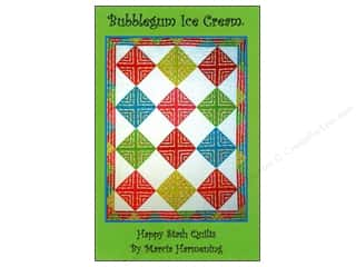 Happy Stash Quilts Bubblegum Ice Cream Pattern by Marcia Harmening