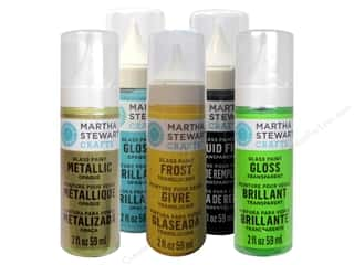 Weekly Specials Paint Sets: Martha Stewart Glass Paint by Plaid, SALE $1.59-$3.09.