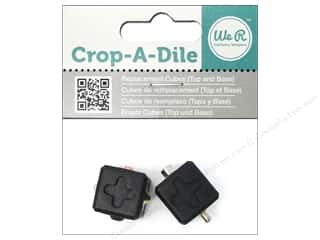 Best of 2013 We R Memory Tool Punch: We R Memory Crop-A-Dile Replacement Cubes
