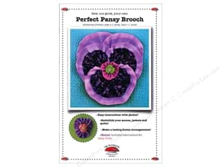 La Todera Perfect Pansy Brooch Pattern
