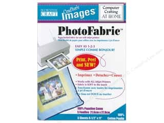 scrapbooking & paper crafts: Blumenthal Crafter's Images PhotoFabric 8 1/2 x 11 in. Cotton Poplin 5 pc.
